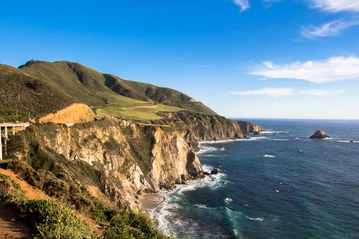 Highway 1 fra Santa Barbara til Monterey – Californien, USA