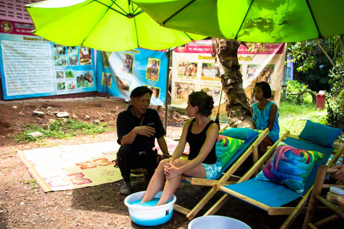 Min dag med Chong folket - Chong Changtune Live Eco Museum, Thailand