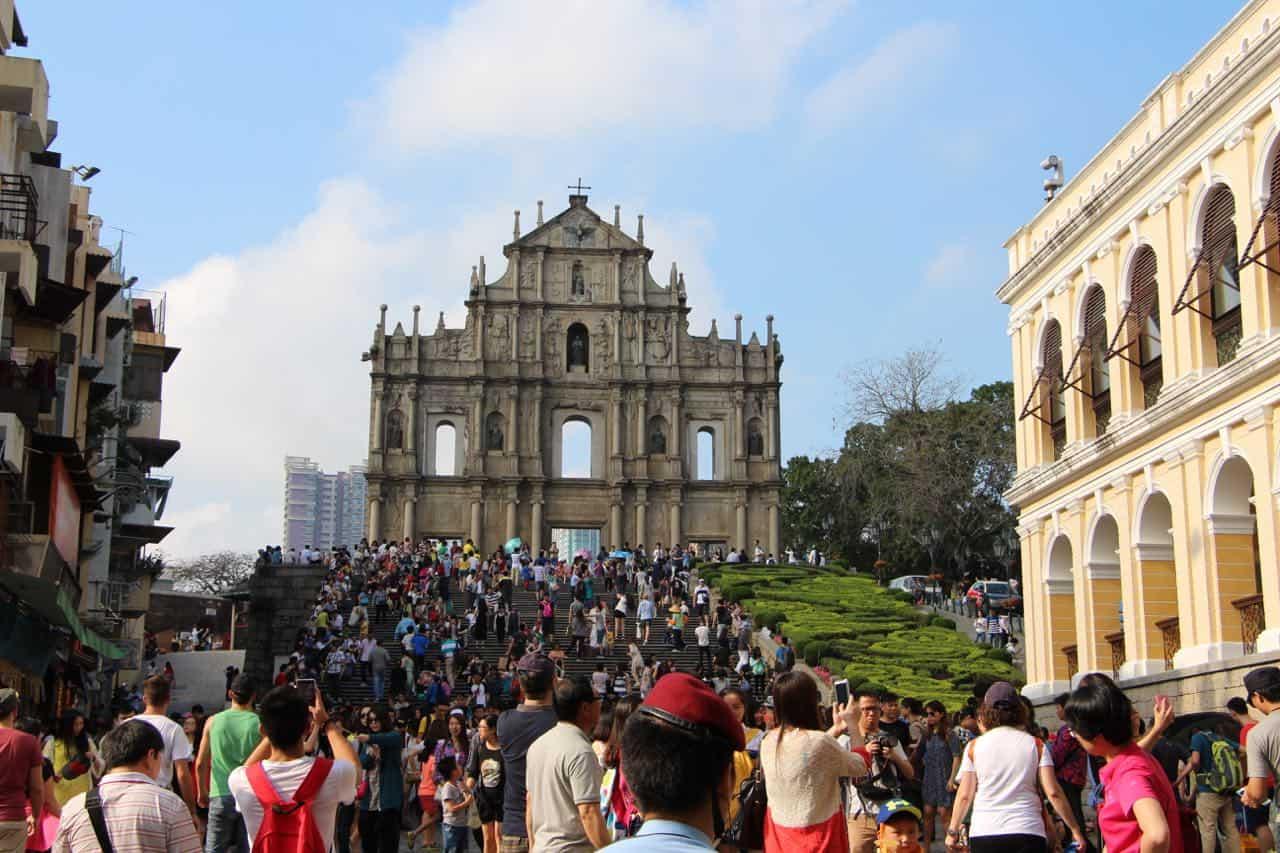 Den historiske portugisiske bydel - Macau 2015