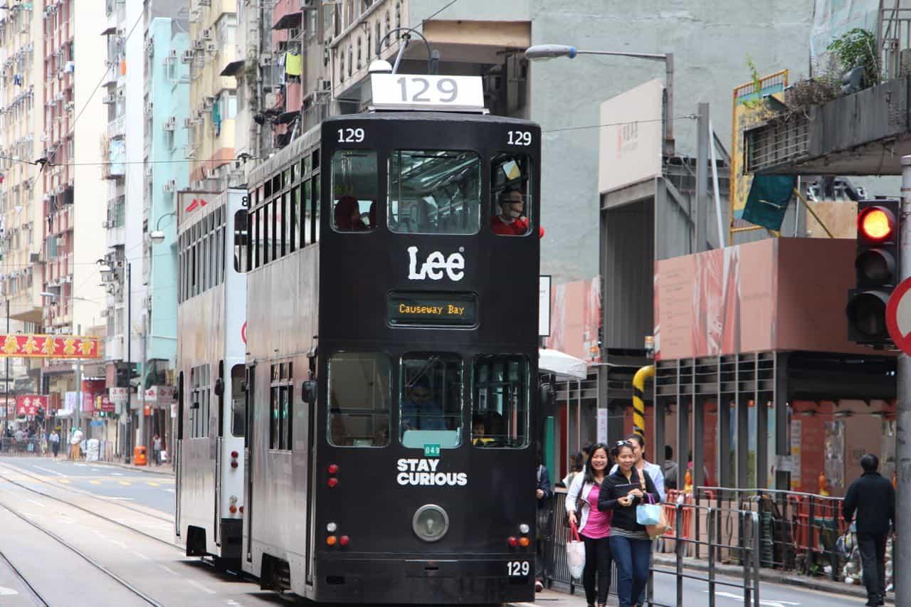 To billige transportoplevelser - Hong Kong 2015