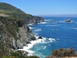 Road Trip - Highway 1 fra Carmel til Big Sur - Californien, USA