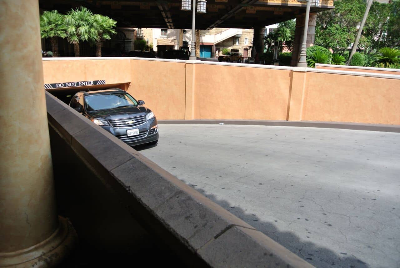 Las Vegas, Valet parking