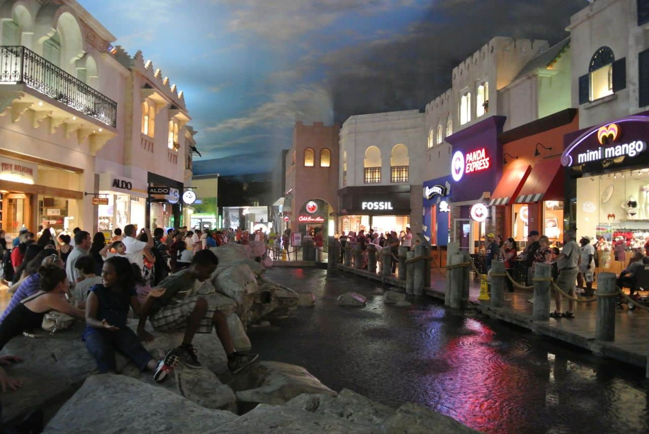 Las Vegas, shopping