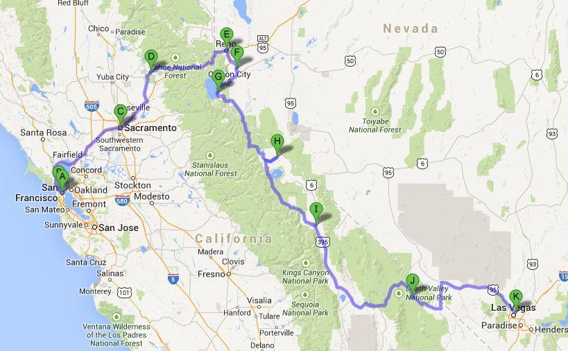 Road Trip april 2014