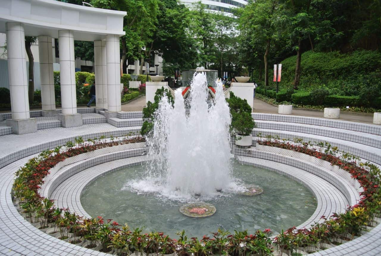 Hong Kong Park en grøn oase – Hong Kong