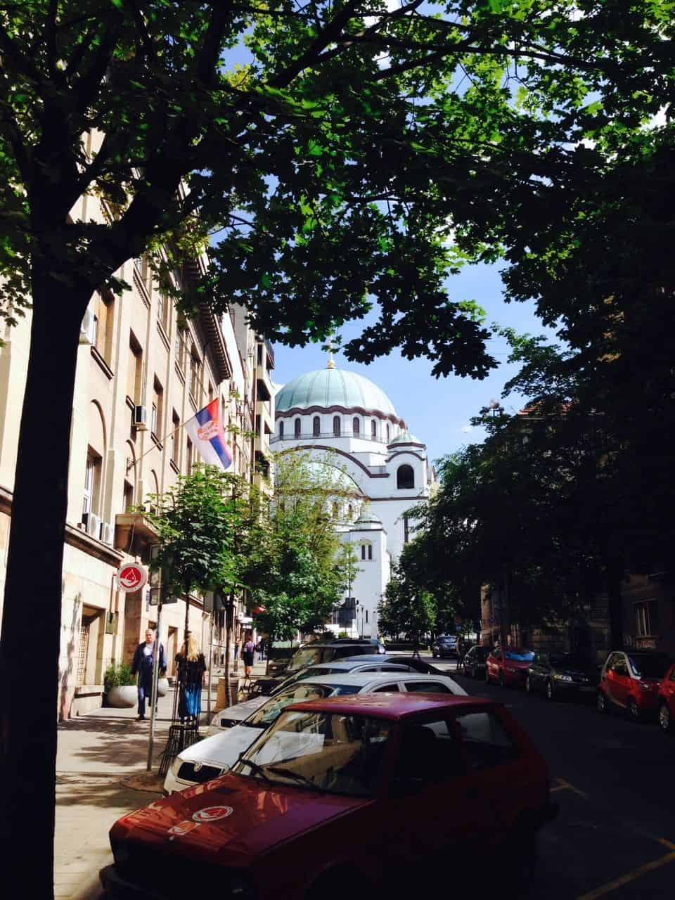 Rejse refleksion Serbien