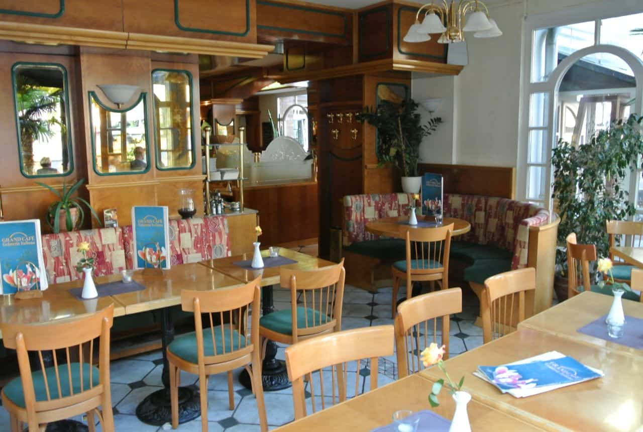 Grand Cafe, Rostock Tyskland