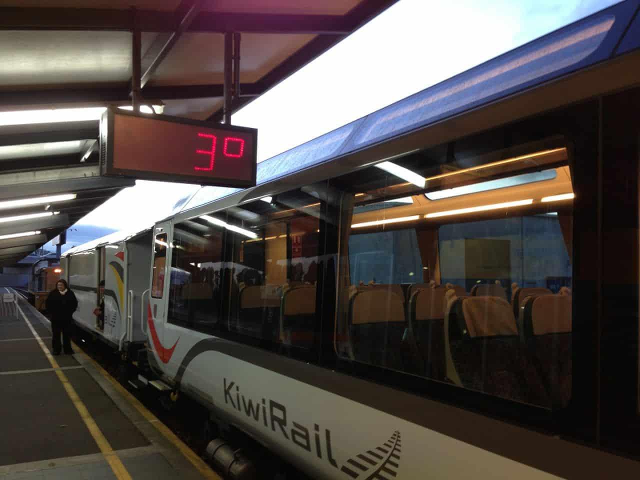 TranzAlpine togrejse - Christchurch til Greymouth