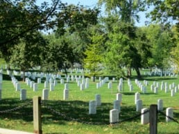 Arlington National Cemetery militærkirkegården - Washington D.C., USA
