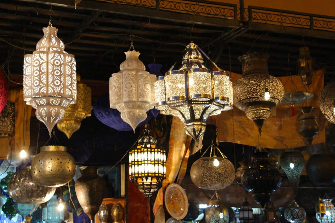 Marrakesh gamle bydel, Medinaen - Marokko
