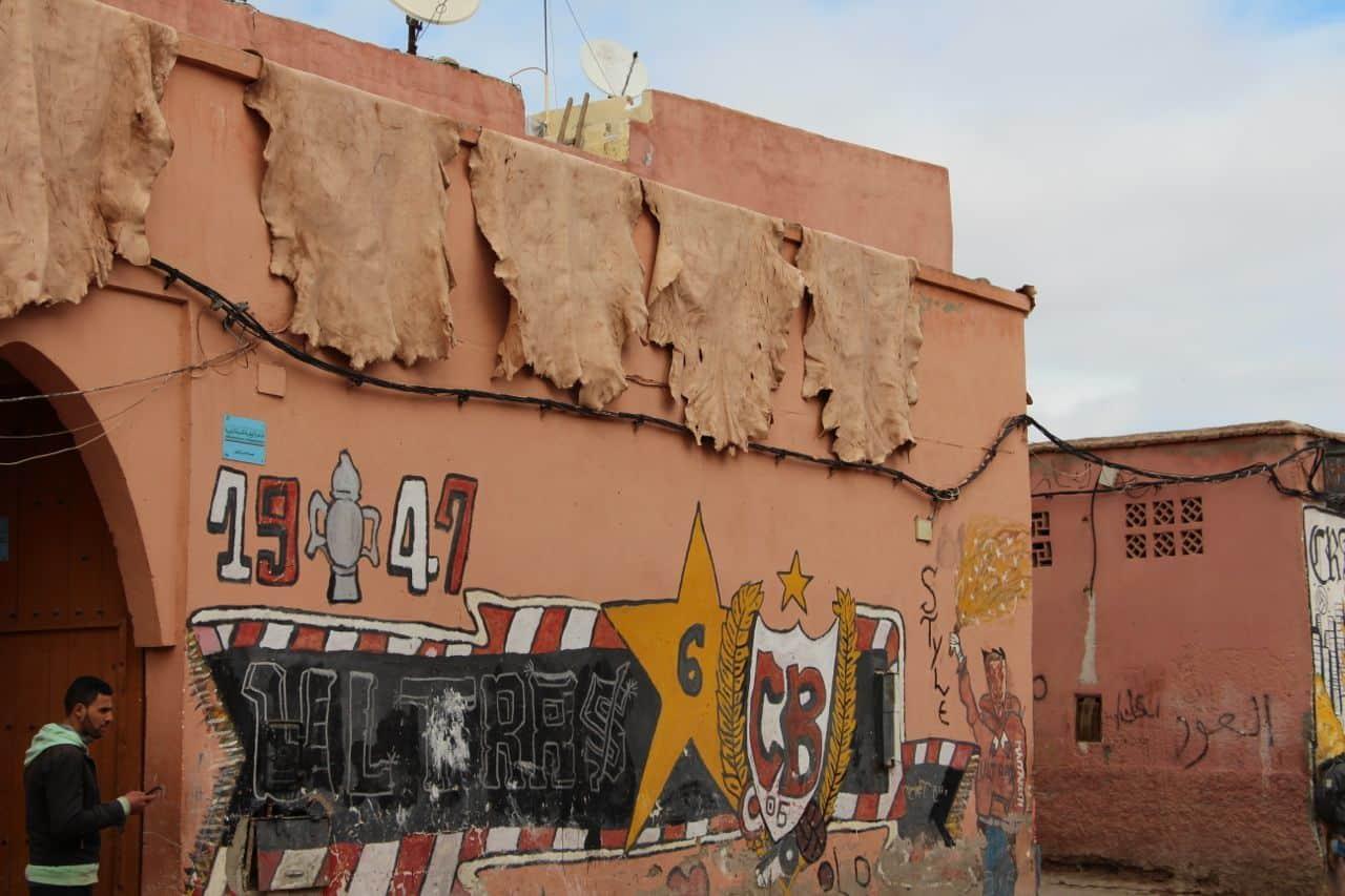 Tannerie - Marrakesh, Marokko