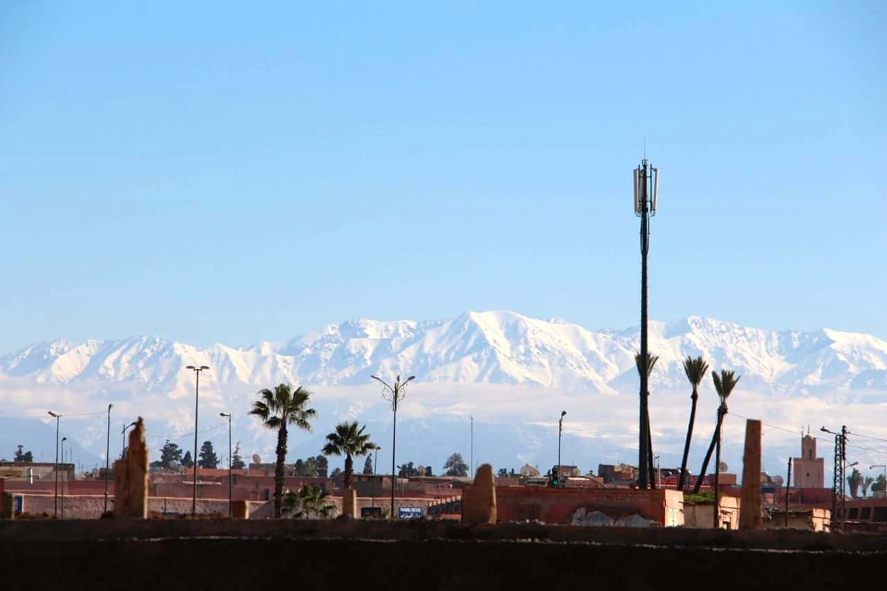 Atlasbjergene - Marrakesh, Marokko