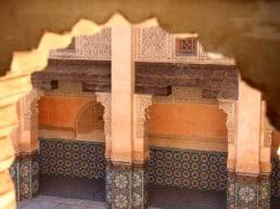 Medersa Ali Ben Youssef den muslimske skole – Marrakech, Marokko
