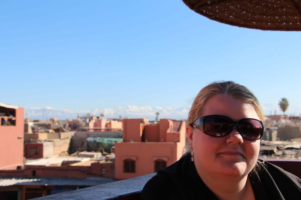 Fire tagterrasser på 24 timer - Marrakesh, Marokko