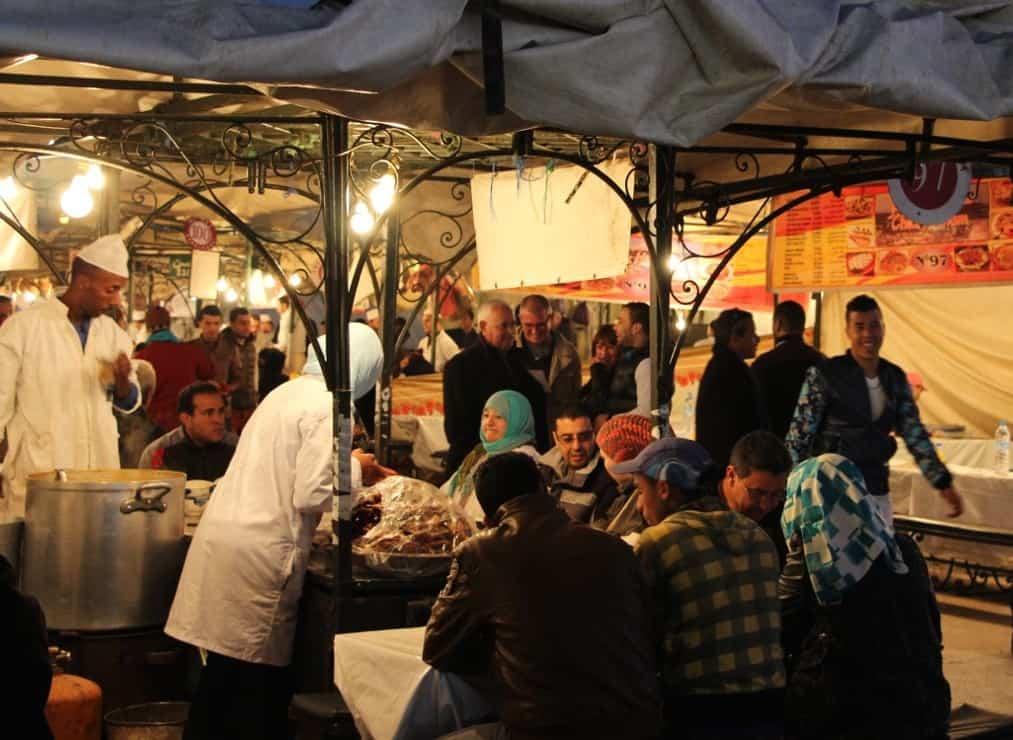 Djemaa El-Fna - Marrakesh, Marokko