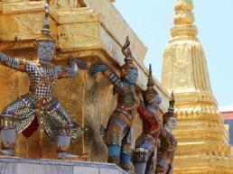 Grand Palace det kongelige tempelkompleks - Bangkok, Thailand