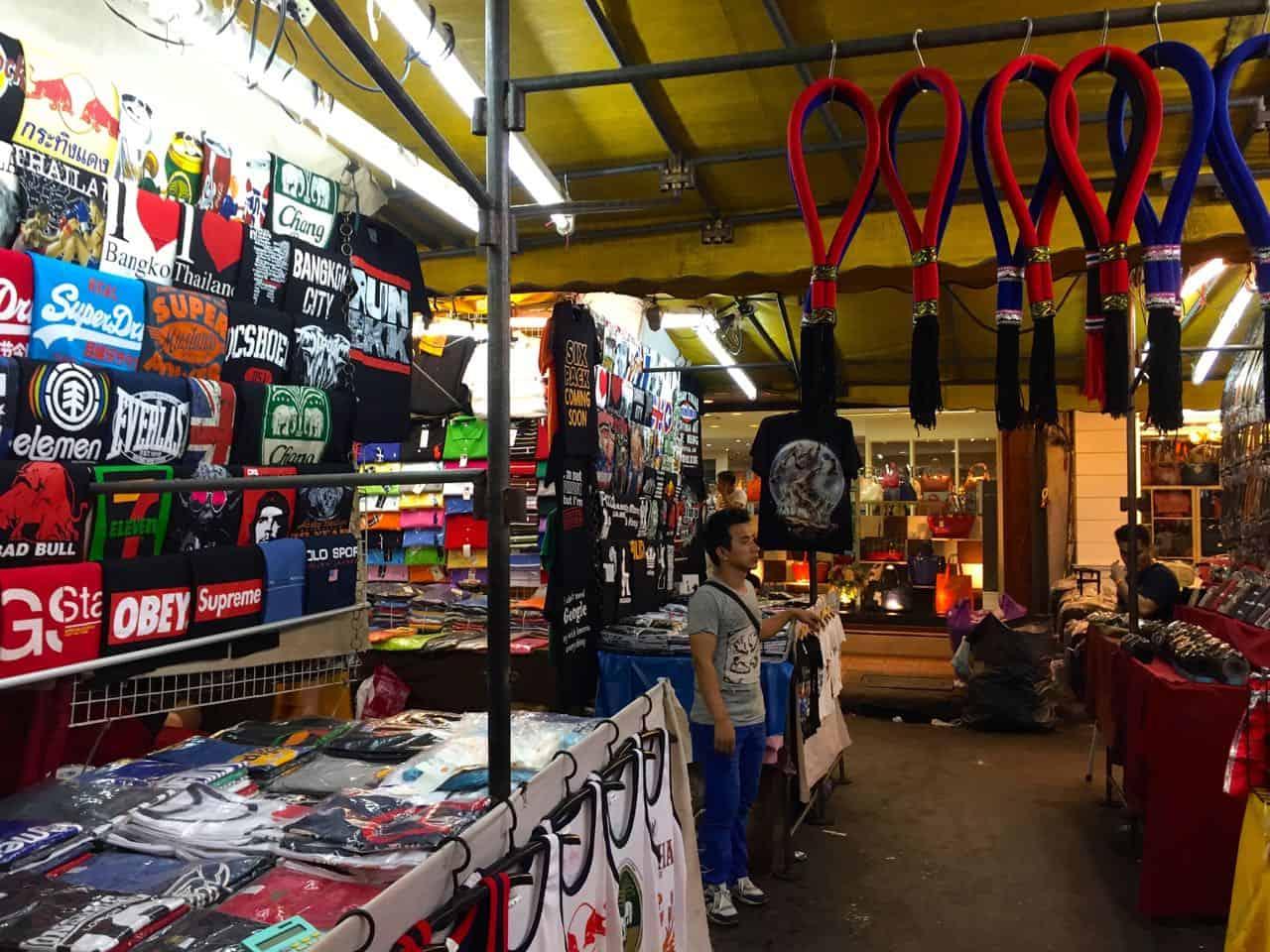 Markeder i Bangkok - Thailand