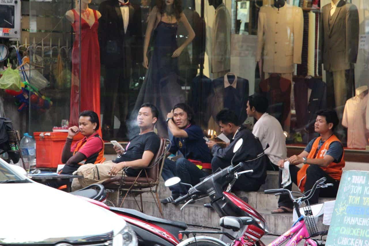 Vores gade - Bangkok, Thailand
