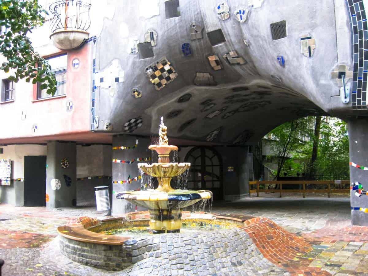 Hundertwasserhaus - Wien, Østrig