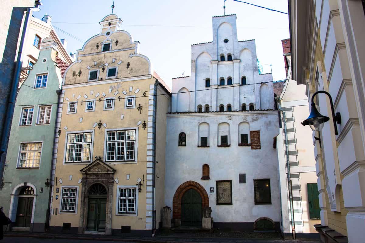 Smukke bygninger i Riga, Letland