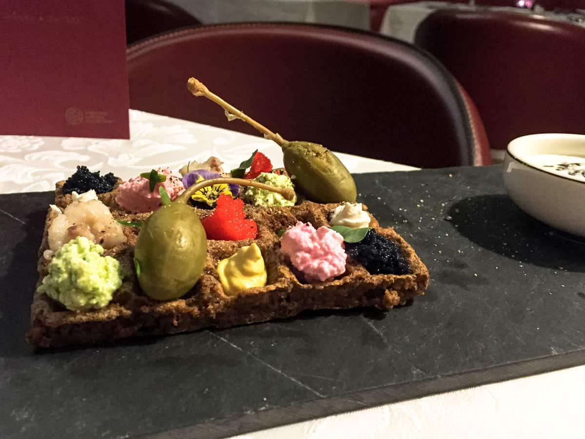 Anmeldelse af Restaurant Renommé på Gallery Park Hotel – Riga, Letland