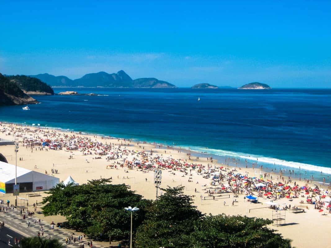 Værelse med udsigt - Hotel Rio Lancaster – Rio de Janeiro, Brasilien