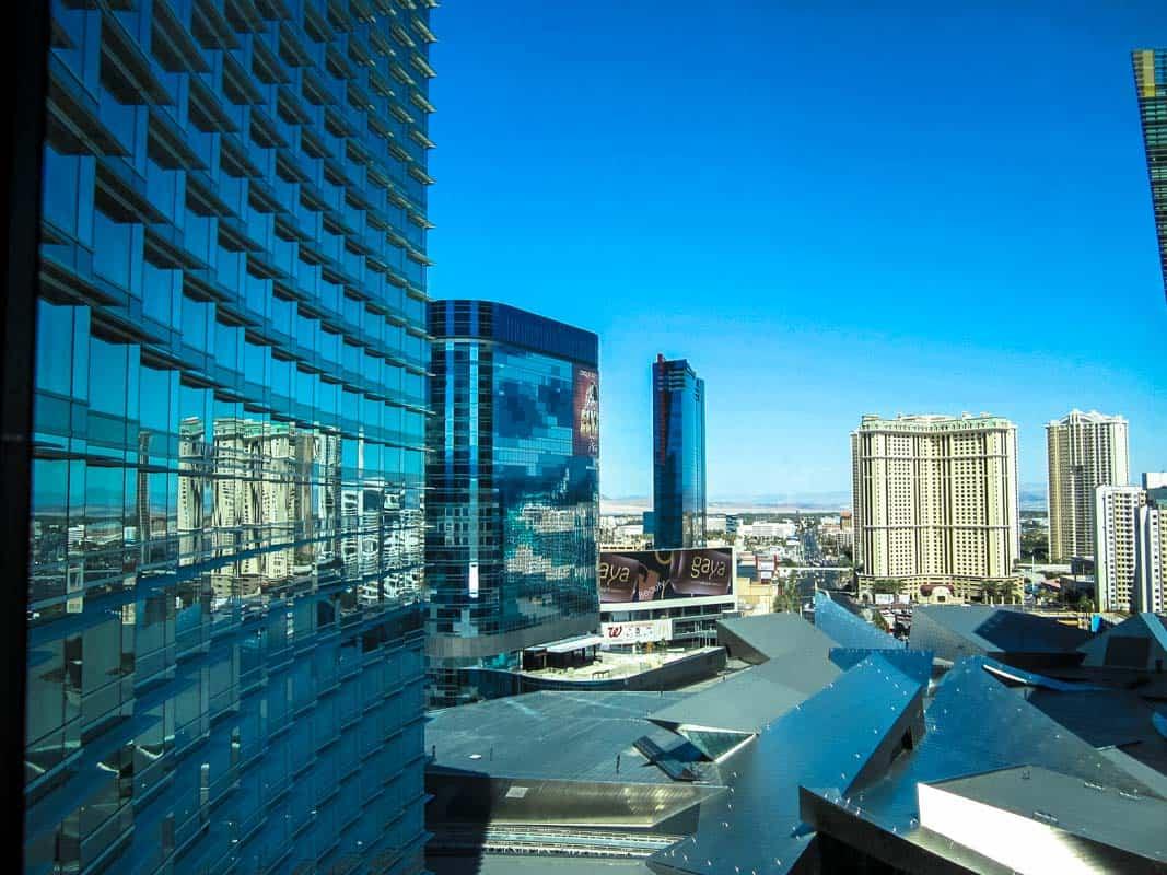 Værelse med udsigt - Aria Resort og Casino – Las Vegas, USA