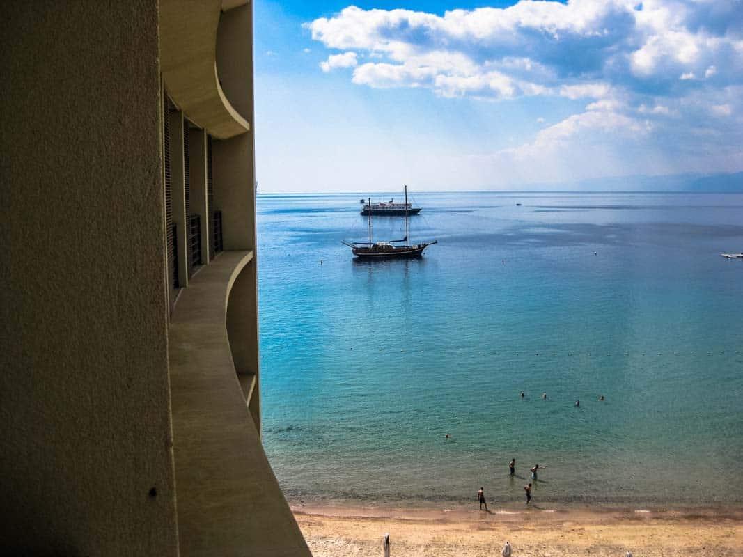 Værelse med udsigt - Kempinski hotel – Aqaba, Jordan