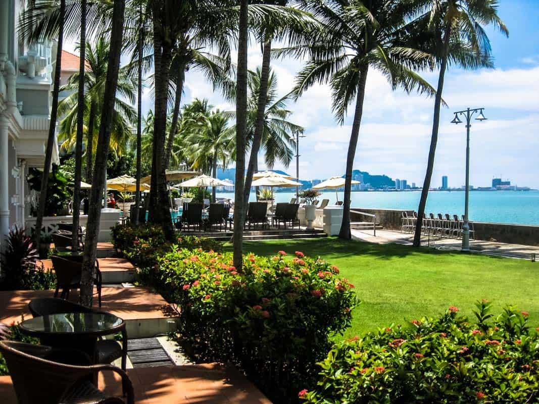 Værelse med udsigt - The Eastern & Oriental Hotel Georgetown – Penang, Malaysia
