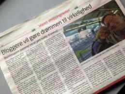 OnTrip.dk i pressen og medlem af Turistnetværket i Greve