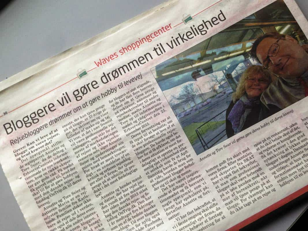 OnTrip.dk i pressen