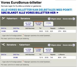 Gæsteblogger Billigeflybilletter.dk, Billige flybilletter med SAS Eurobonus og Norwegian Cash Points