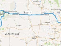 Road Trip - fra Chicago til Denver, USA