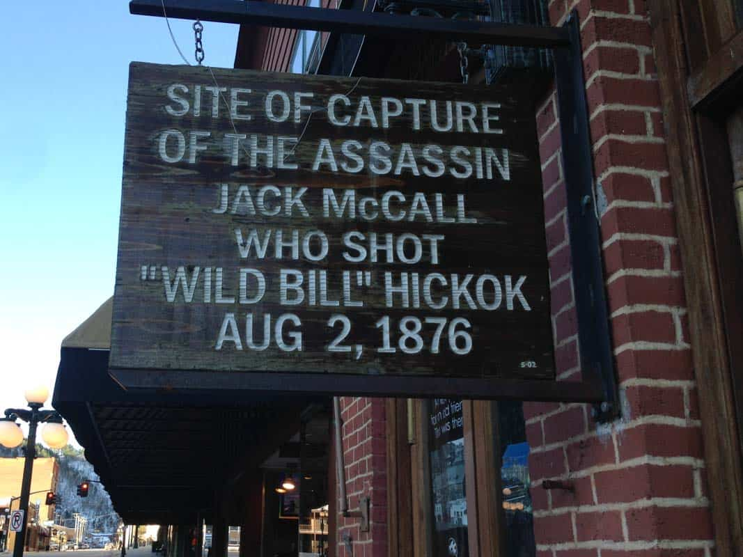 Deadwood den gamle mineby – South Dakota, USA