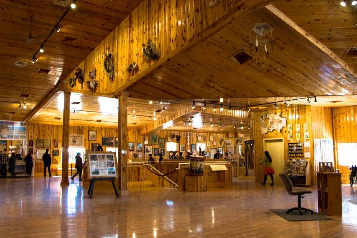 Hyldest til indianerhøvdingen Crazy Horse, South Dakota, USA