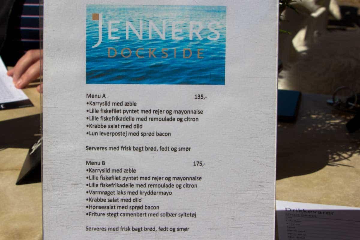 Anmeldelse af Jenners Dockside - Køge, Danmark