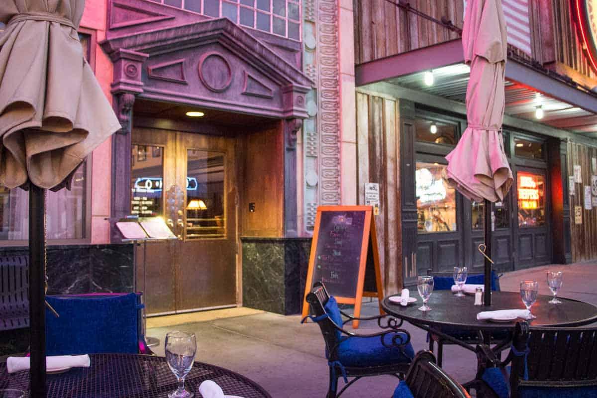 Anmeldelse af Triple George Grill – Las Vegas, USA
