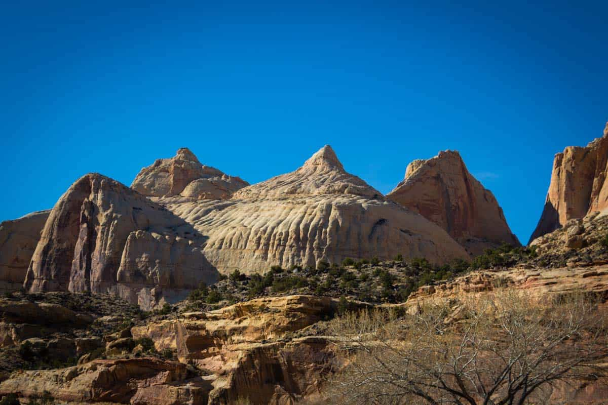 Capitol Reef National Park den største knivspids i jordskorpen - Utah, USA