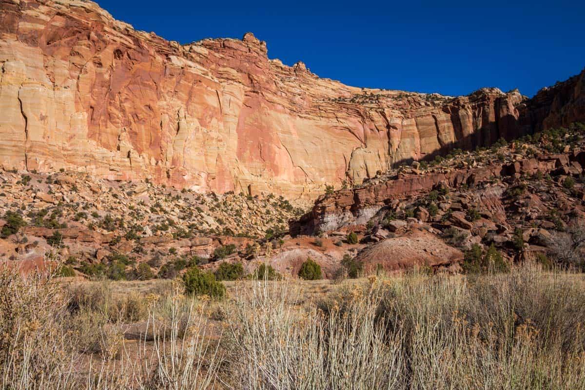 Capitol Reef National Park den oversete park - Utah, USA