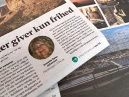 OnTrip.dk er i pressen med en artikel i Politiken