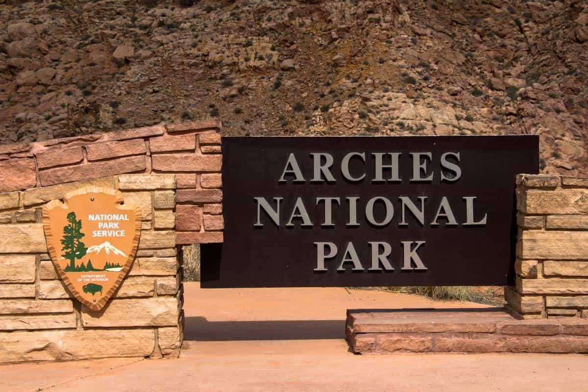 Tusindvis af naturskabte buer i Arches National Park – Utah, USA