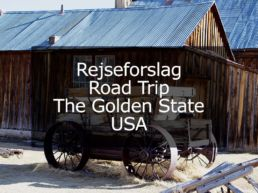 Rejseforslag Road Trip – The Golden State, USA