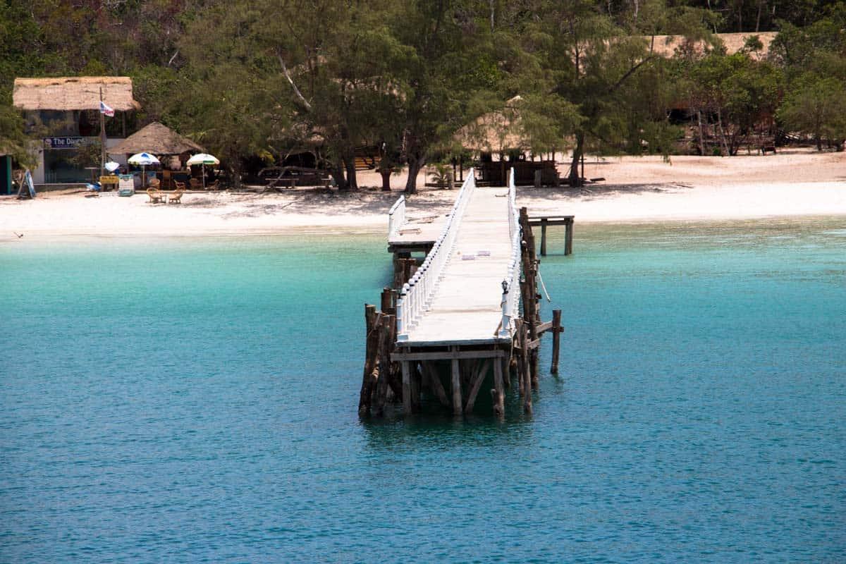 En dag i Paradis - Koh Rong Samloem, Cambodja