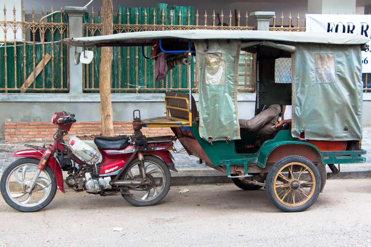 Morgenmødet med en storby i Asien - Phnom Penh, Cambodja