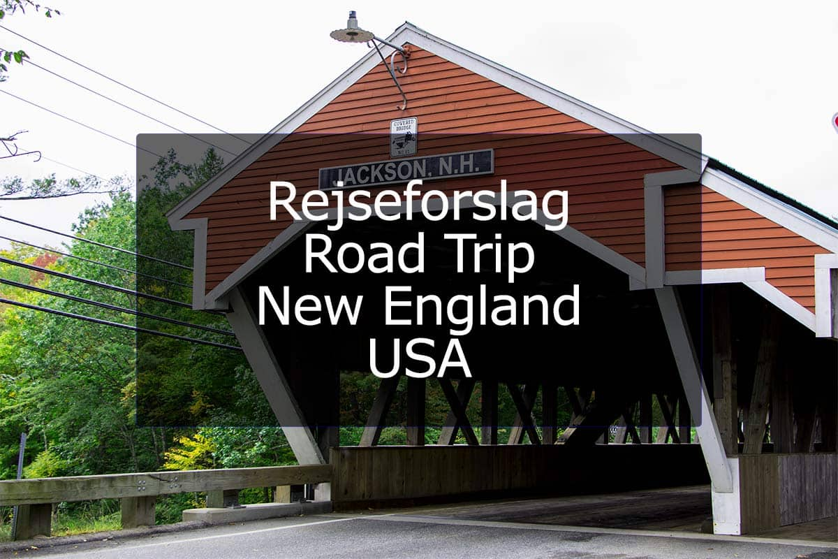 Rejseforslag Road Trip – New England, USA