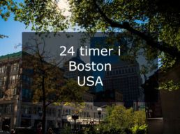 24 timer i Boston – Massachusetts, USA