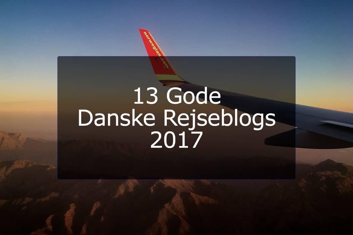 13 Gode Danske Rejseblogs 2017