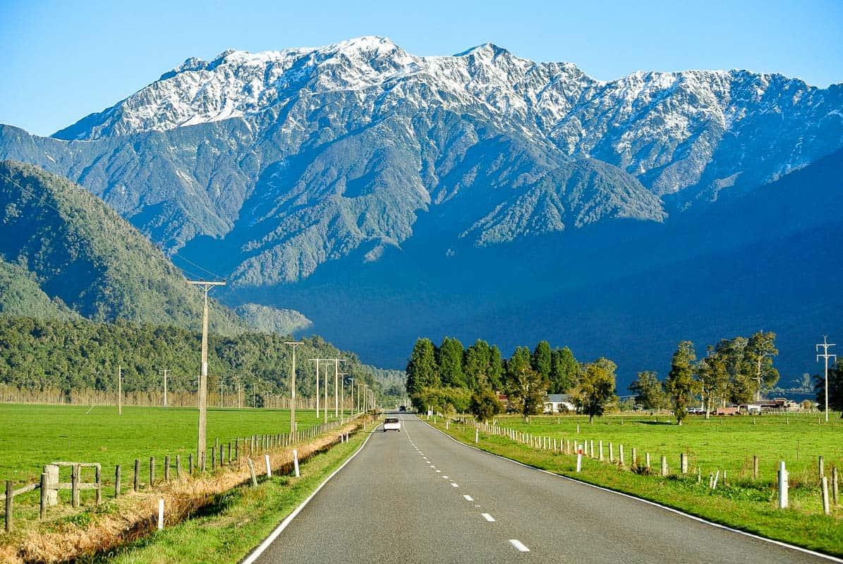 Postkort fra New Zealand