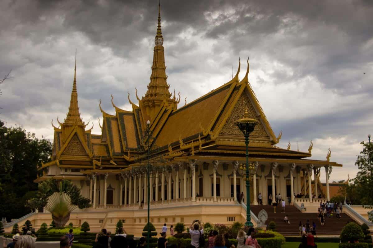 12 postkort fra Cambodja