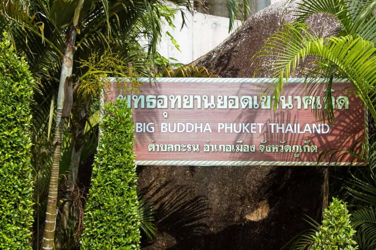 Den store Buddha på Phuket - Thailand